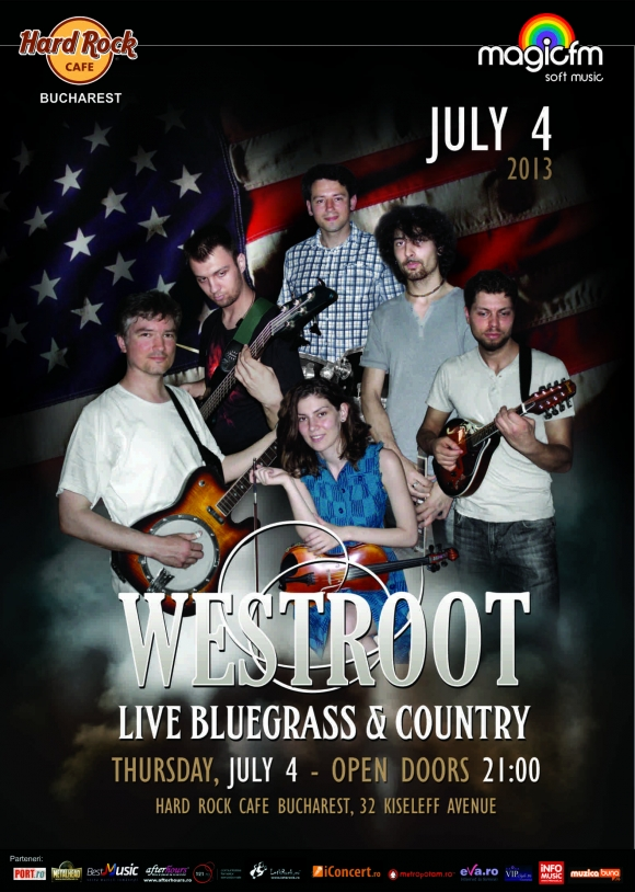 Concert Westroot in Hard Rock Cafe