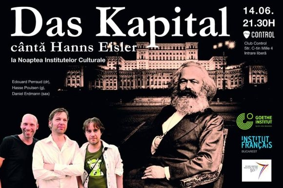 Das Kapital powered by Goethe Institut & Institut Francais in Club Control