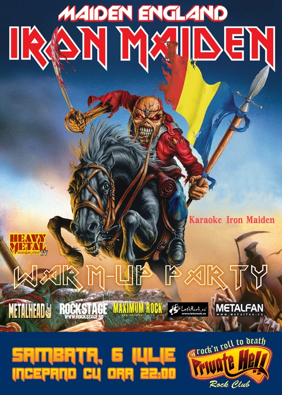 Iron Maiden Pre Show Party