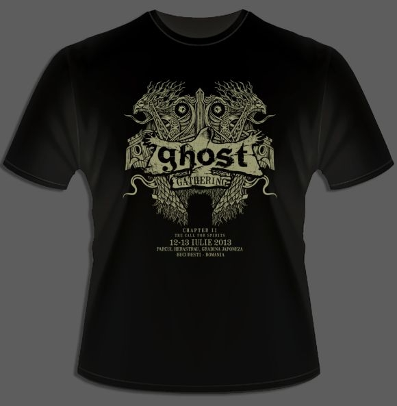Merchandise oficial Ghost Gathering