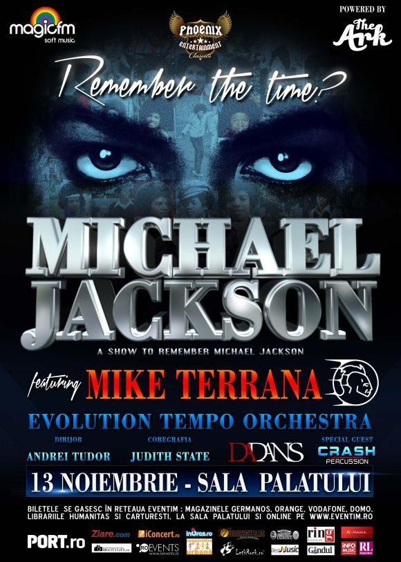 Remember the time? A show to remember Michael Jackson feat. Mike Terrana: un omagiu pe masura Regelui muzicii pop