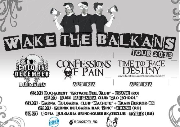 Wake The Balkans Tour incepe in Private Hell