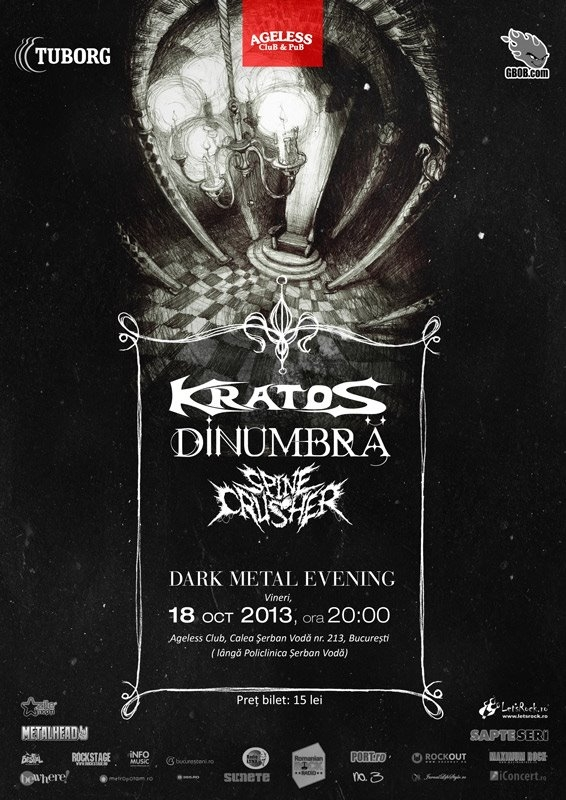 Dark Metal Evening in Ageless Club din Bucuresti