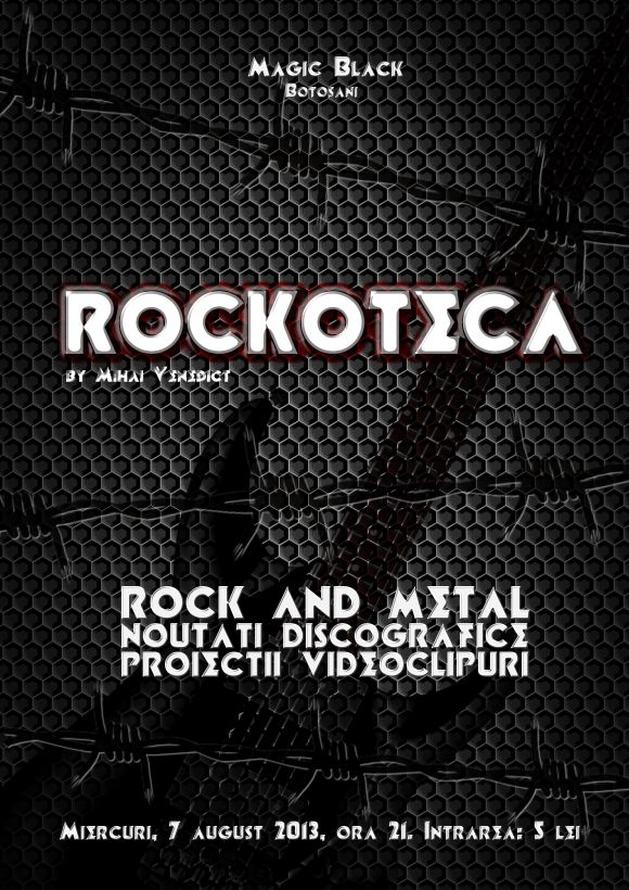 Rockoteca by Mihai Venedict in Magic Black din Botosani