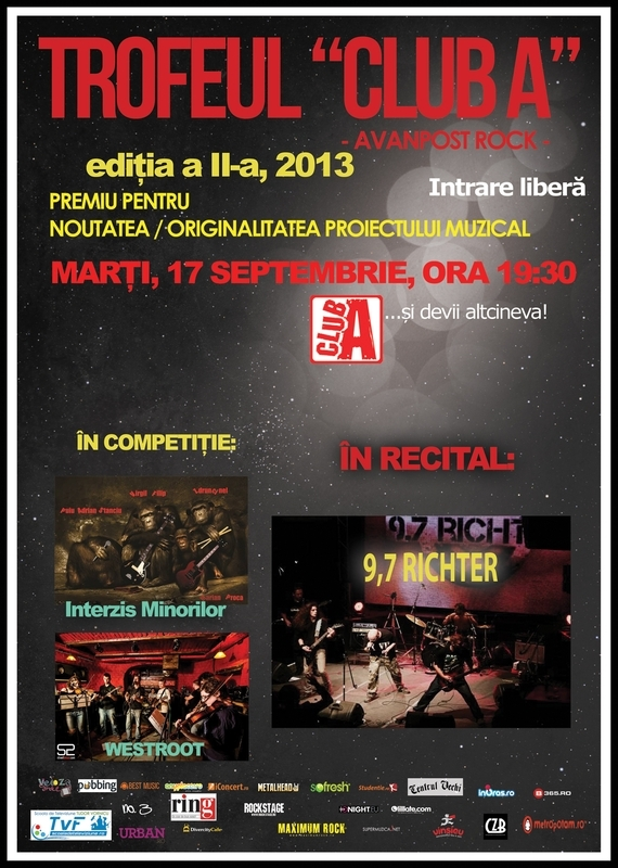 9,7 Richter in recital in cadrul 'Trofeul Club A'
