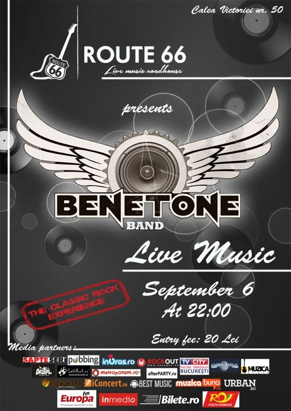 Concert BENETONE Band LIVE in Route 66