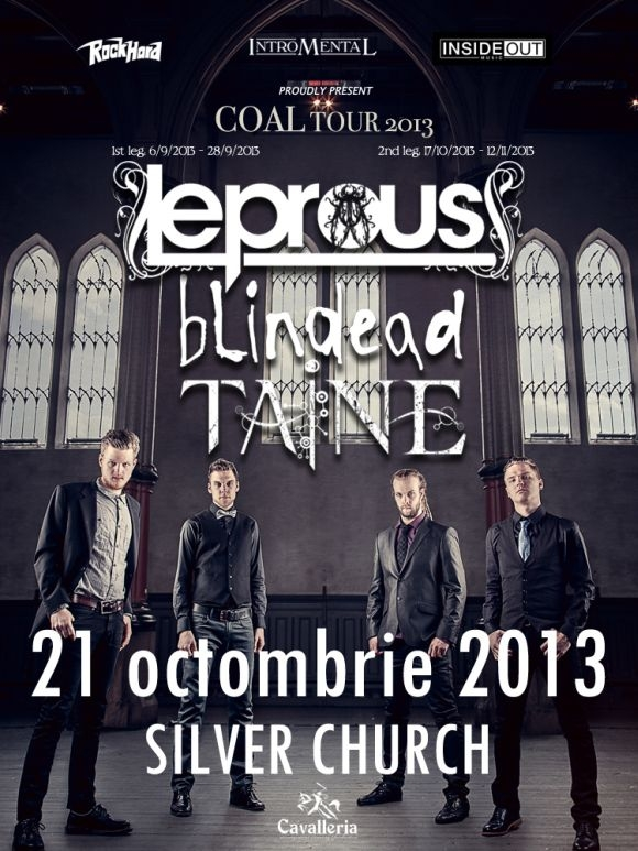 Taine invitati speciali in cadrul show-ului Leprous din The Silver Church