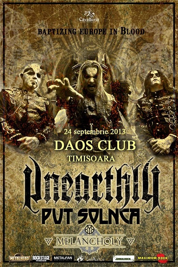 Concert Unearthly, Put Solnca si Melancholy in Daos Club
