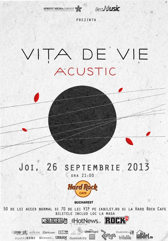 Concert Vita de Vie in Hard Rock Cafe