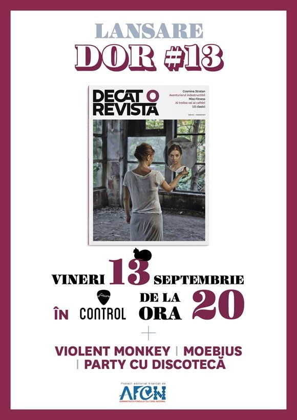 Lansare Decat o Revista #13 in Club Control
