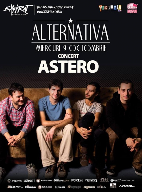 Concert Astero in Expirat & OtherSide Club