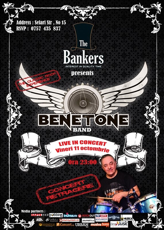 Concert Benetone Band in The Bankers - Thomas se retrage