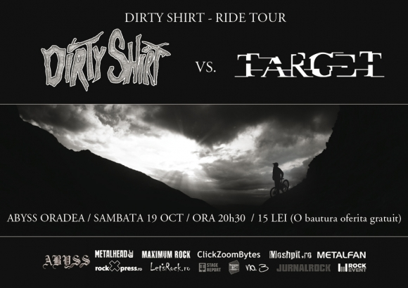 Concert Dirty Shirt si Target in club Abyss din Oradea