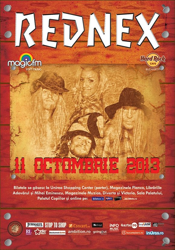 Concert Rednex la Hard Rock Cafe din Bucuresti