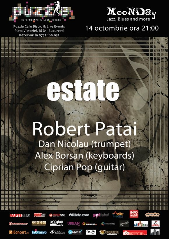 Estate by Robert Patai la MooNDay - Jazz, Blues and More in club Puzzle