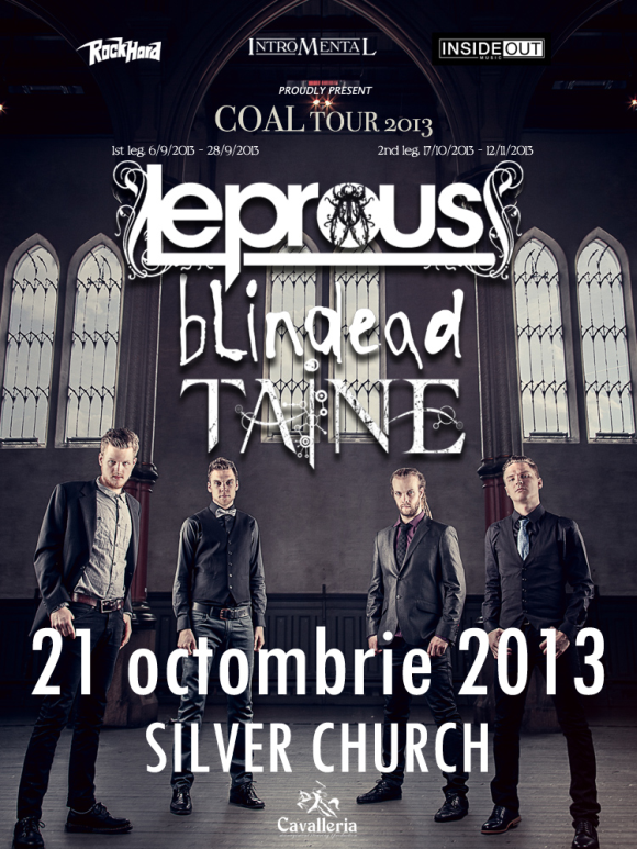 Program concert Leprous in club The Silver Church si un posibil playlist