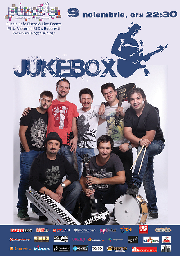 Puzzle FUN & DANCE cu trupa JUKE BOX