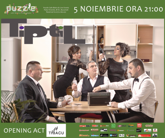 Ziua Internationala TiPtiL in Puzzle Club - primul concert in noua formula