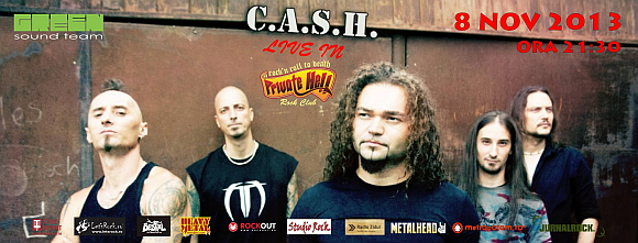 Concert C.A.S.H. in Private Hell din Bucuresti