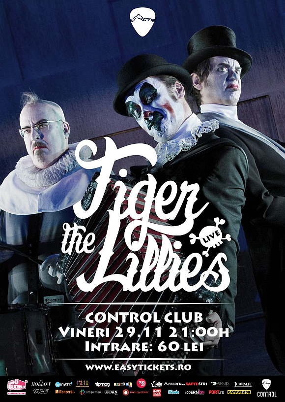 Concert The Tiger Lillies in Club Control