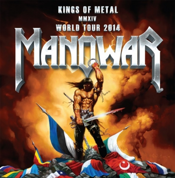 MANOWAR: preview al piesei 'Kingdom Come MMXIV' de pe 'Kings Of Metal MMXIV'