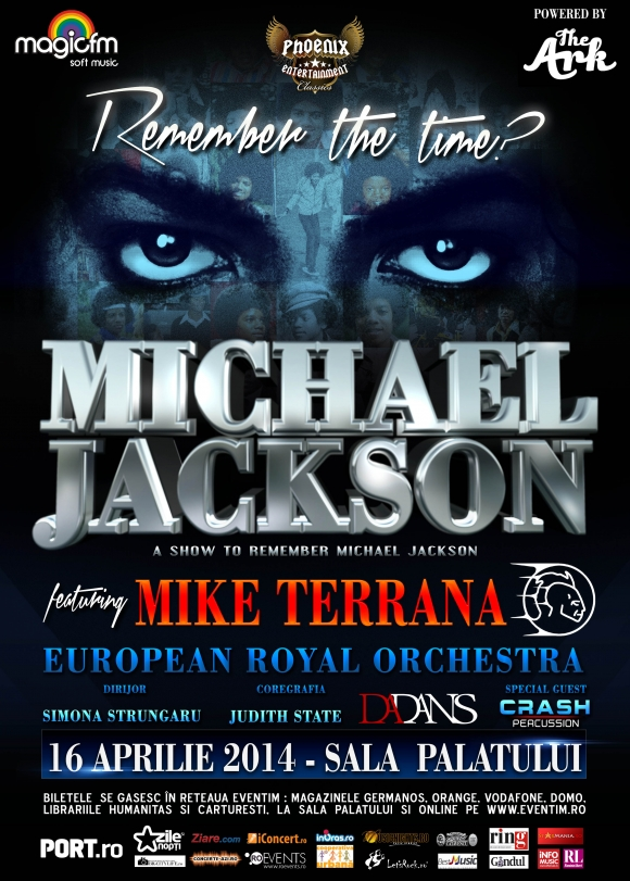 A show to remember Michael Jackson feat. Mike Terrana