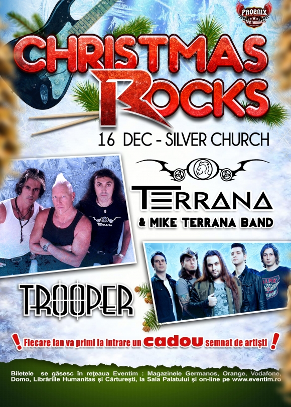 Trooper si Mike Terrana Band la Christmas Rocks in The Silver Church