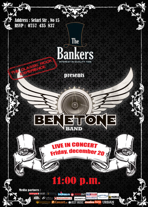 BENETONE Band LIVE in The Bankers