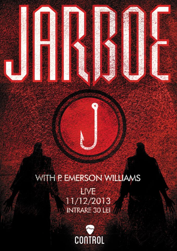 Concert Jarboe with P. Emerson Williams in Club Control