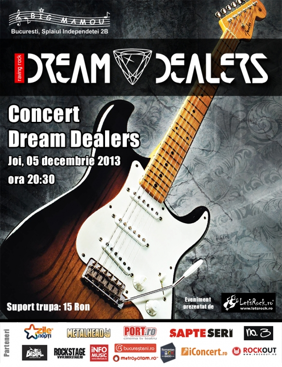 Dream Dealers concerteaza in Big Mamou