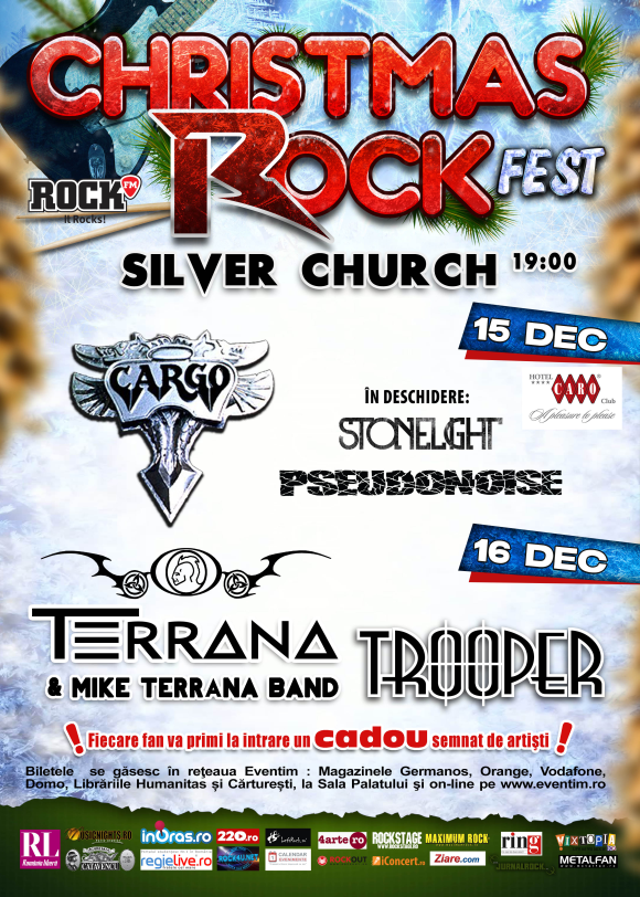 Program si reguli de acces la Christmas Rock Fest