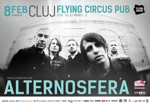 Concert Alternosfera in Flying Circus Pub din Cluj-Napoca