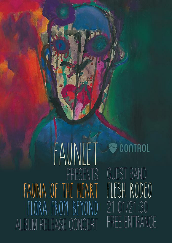 Lansare de album Fauna of the heart Flora from beyond in Club Control