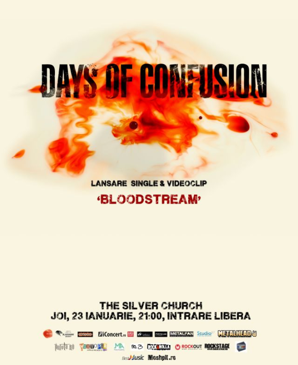 Lansare single si videoclip BLOODSTREAM - Days of Confusion in The Silver Church