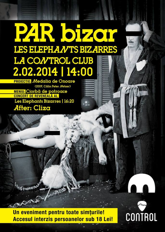 Par bizar - Les Elephants Bizarres in Control Club