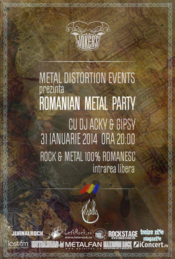 Romanian Metal Party in Joker's din Bucuresti