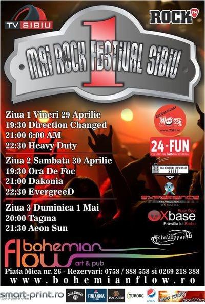 1 Mai Rock Festival Sibiu 2011 (prima editie)