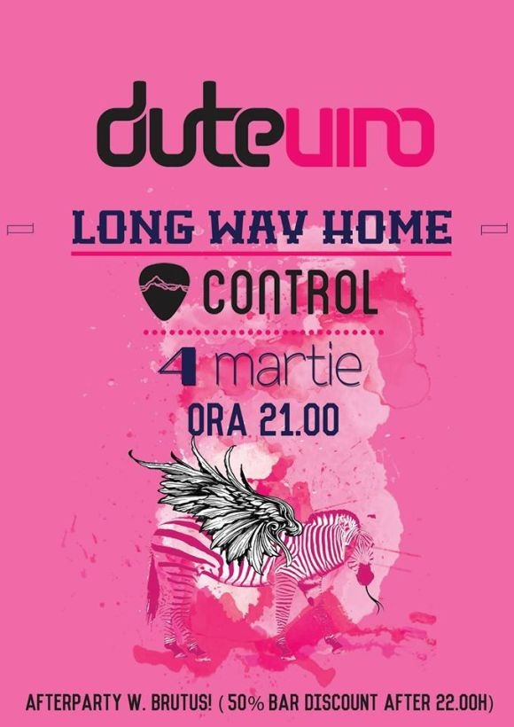 Concert Dutevino - Long Way Home in Club Control
