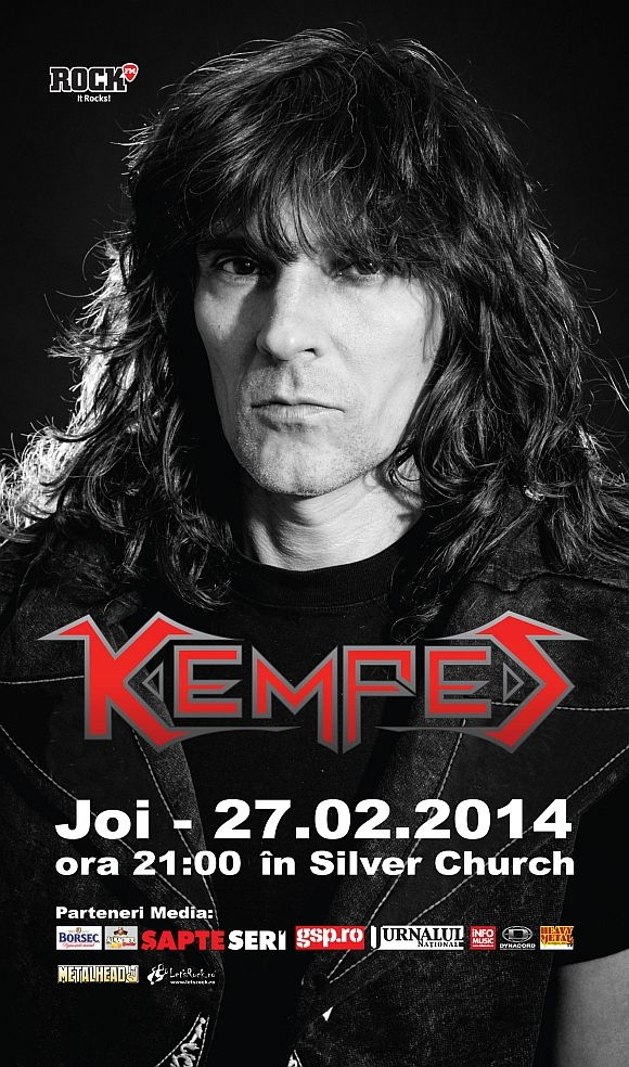 Concert Kempes, Blade Strings si 9,7 Richter in The Silver Church Club din Bucuresti