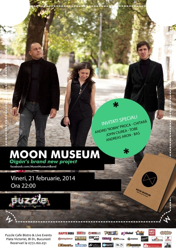 Concert Moon Museum in Club Puzzle din Bucuresti