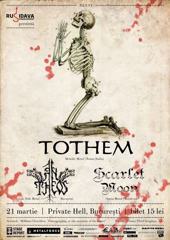 Concert Tothem, An Theos si Scarlet Moon in Private Hell
