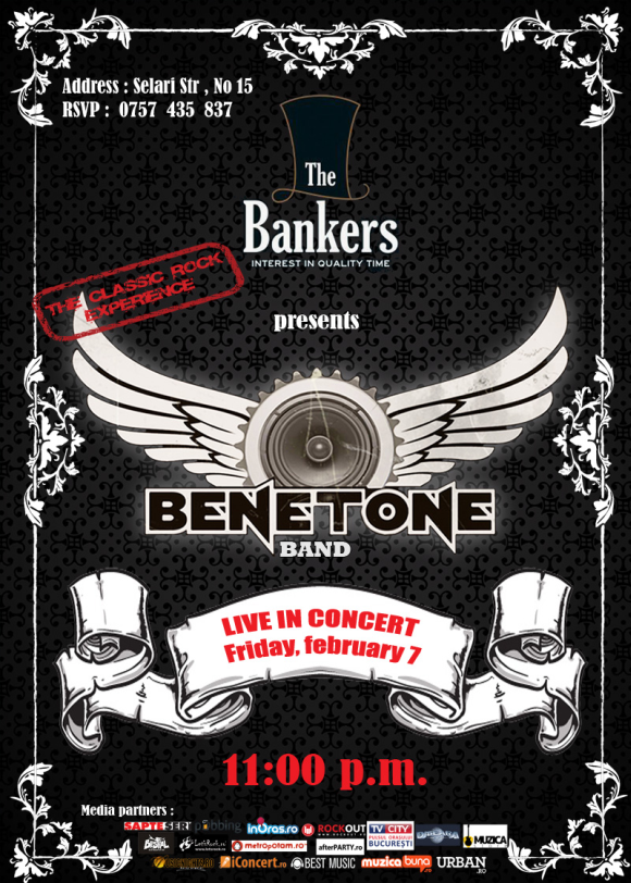 Concert Benetone Band Live in The Bankers