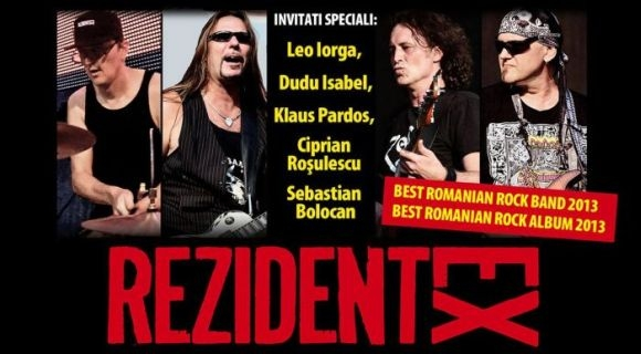 Invitatii speciali ai trupei Rezident Ex la 'Maximum Rock Awards 2013'