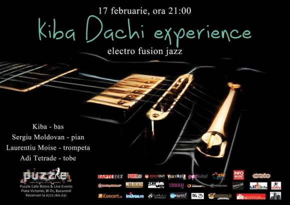 Kiba Dachi Experience la MooNDay Jazz, Blues and more in Club Puzzle
