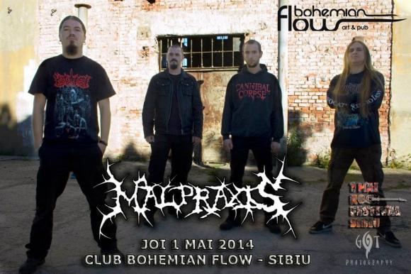 MALPRAXIS (brutal death metal/Cluj-Napoca)