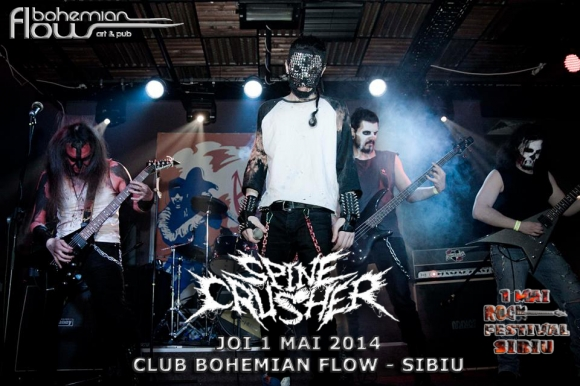 SPINECRUSHER (hellish deathrash metal/Bucuresti)