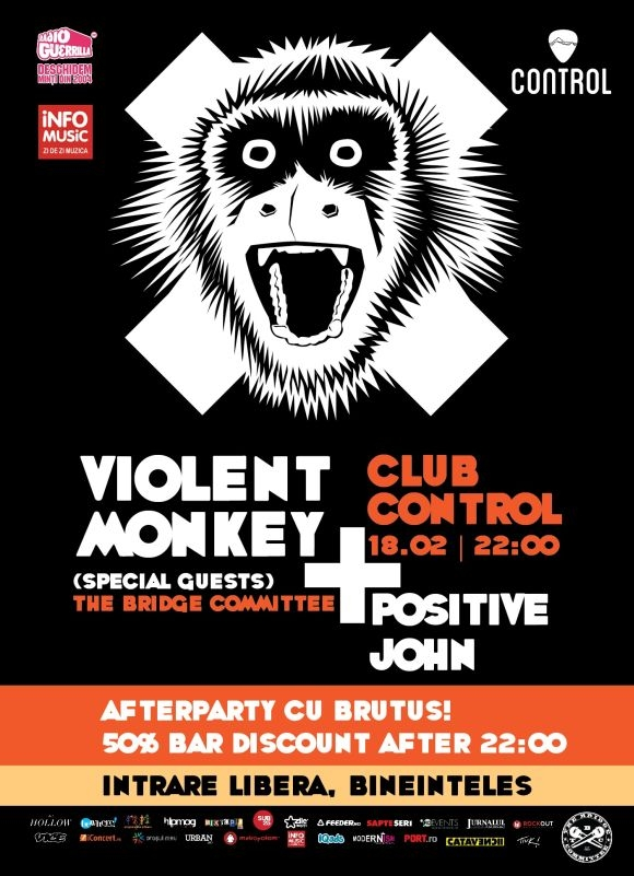 Violent Monkey, The Bridge Committee si Positive John in Club Control
