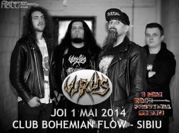 VIRUS (thermo nuclear thrash metal/Anglia)
