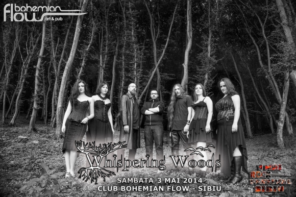 WHISPERING WOODS (symphonic gothic doom metal/Cluj-Napoca)