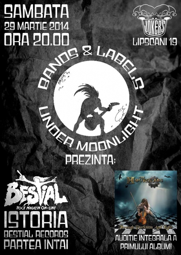 Bands & Labels Under Moonlight (BLUM) - prima editie: istoria Bestial Records si auditia completa a albumului The Hourglass
